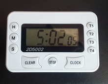 4 channel timer or 4 groups timer, digital timer with clock, multi channel digital timer