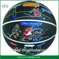 Venda quente novo padrão bola de basquete, mini de basquete de borracha, esportes equipamentos de basquetebol