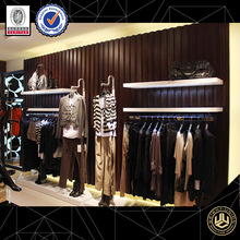 Fashion women clothes store furniture ,metal shop display fixtures for garments
