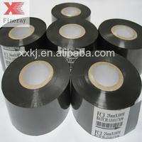 printer machine used black 25mm width thermal printer ribbon, date print foil