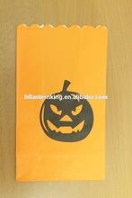 Halloween Decoration Candle Bag Pumpkin