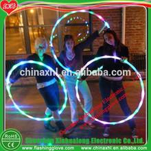 wholesale plastic lighted led hula hoop