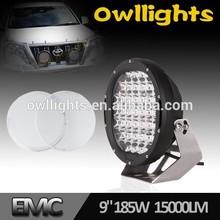 Unsurpassed!! Diecast OL9010 185w 96W LED Round LED 96w 4X4 Spot Lights /4X4 Working Lights /96W LED Squared 4X4 Auto Lights