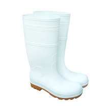 Slaughterhouse /Chemical Manufacturer White Ranger Construction Safety Rain Boots