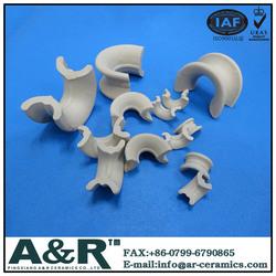 Exported Factory sale Ceramic Intalox saddles
