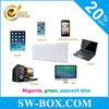 Popular Mini Bluetooth Keyboard for iPad Mini iPad2 3 4 5 Samsung Galaxy Tab 2 3