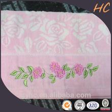 wholesale zero twist yarn dyed unique custom face towel