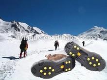 10 picos anti- deslizamiento de silicona de hielo agarre& escalada crampones de hielo tacos de hielo