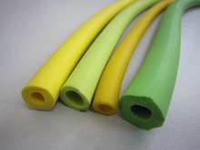 Colored Elastic rubber Latex tube OD 9mm for bungee,yoga sports.