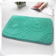 Fancy memory foam door mat/Memory foam bath mat_ Qinyi