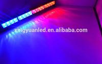 19'' Police light bar front strobe LED light bar used warning red blue flashing light