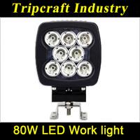 High Power 12v 80w car led work light bar for chevrolet orlando