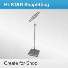 HR6011 Decoration for shoe shop metal folding display stands