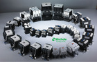 tianhui electric high quality LC1-D series 24v AC coil LC1-D12 ac contactor