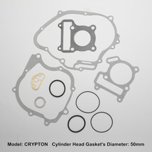 flat ring rubber gasket,CRYPTON motorcycle parts