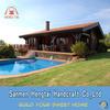 2014 Beautiful design prefabricated modular homes wooden house green house prefab homes