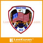 custom embroidered eagle flag emblem embroidery design badges