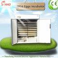 2816 ovos CE novo projetado de ovos de codorna de temperatura de incubação para ovos para incubação