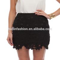 2014 OEM factory new design girls lace mini skirts photos
