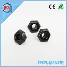 10mm Fashion Hexagonal Black Nickle Metal Eyelet For Shoes