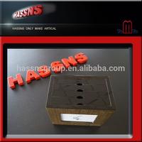 High glossy wooden photo album box, wooden album, wood album