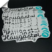 0.12mm 184 water proof vinyl label sticker