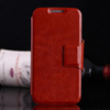 Leather Wallet Flip Case For Samsung Galaxy S4 mini