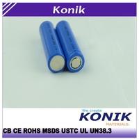 konik 18650 lithium ion battery 3.7V 1800mah rechargeable battery laptop battery