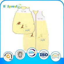 Hot Sale Super Soft Jersey Bear Baby Sleeping Bag
