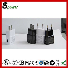 Black / White Charger 5V 2A Mobile Phone Charger 10W for Samsung, iphone, Huawei, HTC