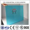 UV coating 4mm/6mm/8mm/10mm hollow pc sheet