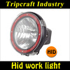 """High quality 7"""" 9"""" 12V24V 35W/55W75W HID offroad light,4wd off road HID driving light,HID work light for truck Atv SUV"""