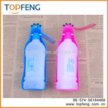 dog travel water bottle /pet feeding bowl/dog drinker bottle