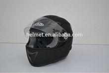 Matte Black Motorcycle full face Helmets 100%fiberglass material AD-518