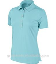 TS145 2014 New design wholesale Women's Victory Polo T shirt