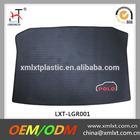 Custom black car trunk mat