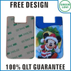 Free design Japan quality standard adhesive smart wallet phone
