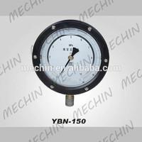 High quality YBN-150 precision oil filled pressure gauge