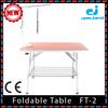 Shanghai Jingyun factory stainless steel folding pet gromming table