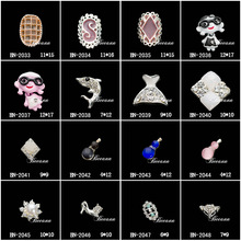 2014 latest nail ari DIY decration , nail jewlery