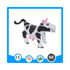 Hot sell inflatable animal toy, promotional milk cow toy inflatable cow for kids