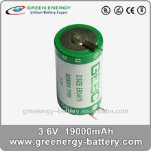 ER34615 19Ah 3.6v Lithium D batteries for Song Meter