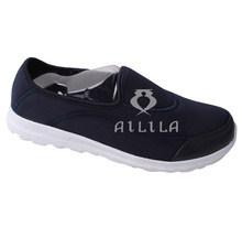 2014 Wholesale fashion canvas shoes with rubber outsole for women
