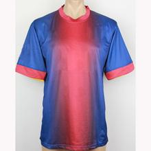 Custom football shirt maker soccer jersey dri fit cheap