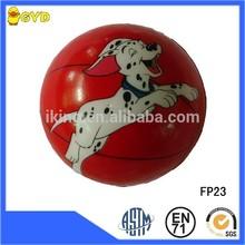 PU stress paintball products printed Playing dog Pic ,anti stress ball toy