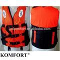 flotación de espuma de seguridad personalizada marina inflable chaqueta de la vida
