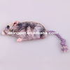 Rope Tail Stuffed Plush Mouse Pet Toy Dog Toy Mouse