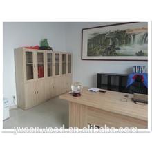 simple MDF/particle board wood bookcase book shelf book cabinet file cabinet