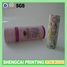 Cardboard packaging tube for essential oils