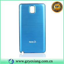 High Quality Metal Makeup Luxury Case For Galaxy Note 3 Back Cover
